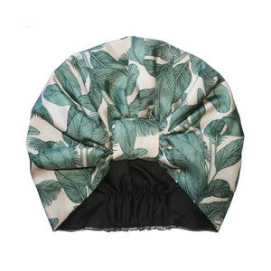 The Palm Leaf Silk Turban