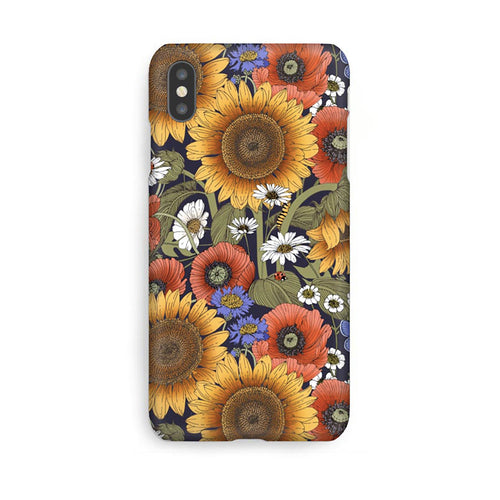 Luxury Phone Case - Sunflower Garden