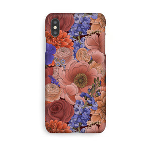 Luxury Phone Case - Winter Floral