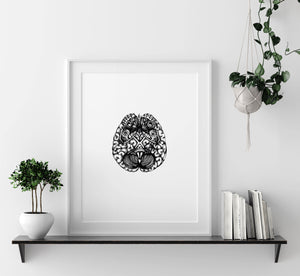 'Cerebellum' Fine Art Print - Emily Carter London