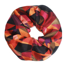 Upcycled Silk Scrunchie - Prism