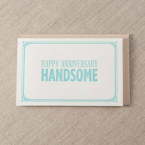 Anniversary Handsome Greeting Card
