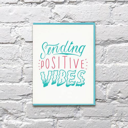 Sending Positive Vibes Card
