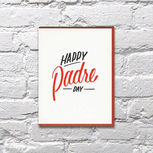 Padre Father's Day Spanish Card
