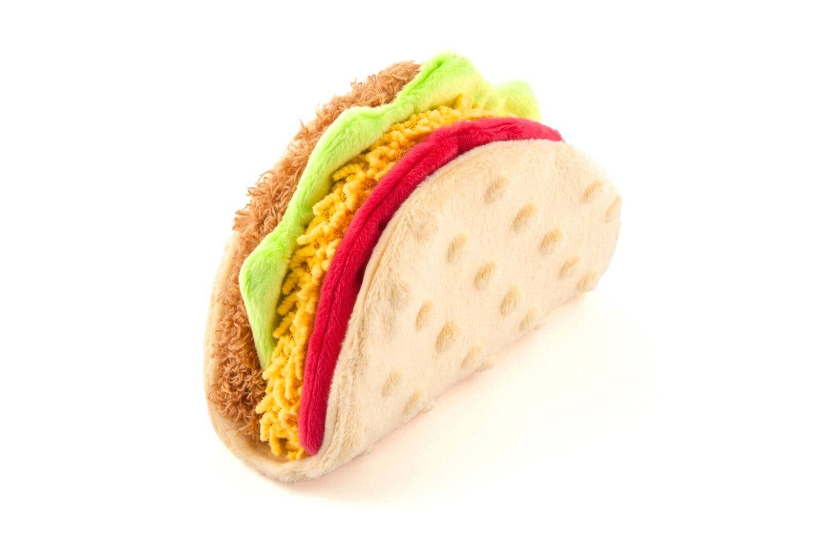 Taco Plush Pet Toy