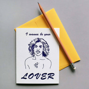 Prince Lover Greeting Card