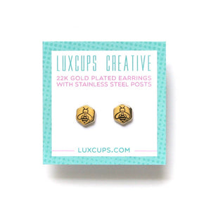 Honey Bee Earrings