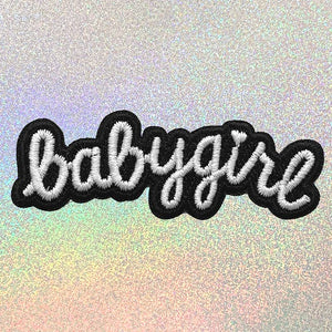 Babygirl Text Patch