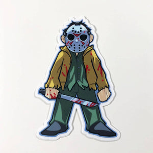 Jason Vinyl Sticker