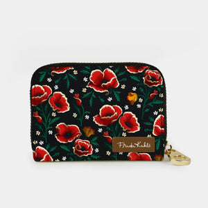 Frida Kahlo Poppies Zipper Wallet