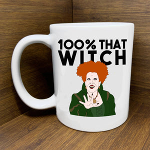 Hocus Pocus 100% that Witch Mug