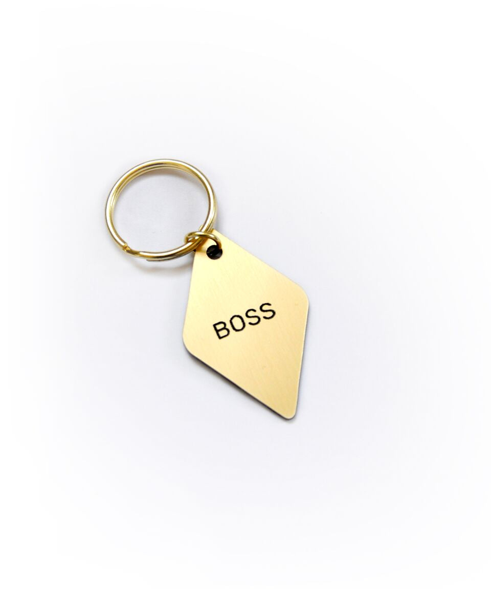 Boss Diamond Keytag