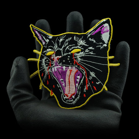Laser Cat Patch By Ziero
