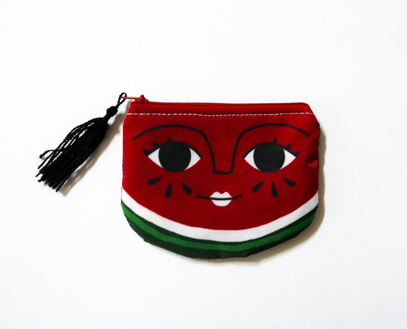 Watermelon face purse