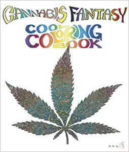 Cannabis Fantasy Coloring Book