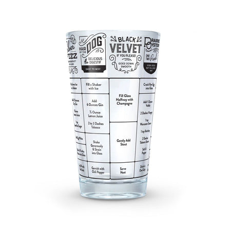 Good Measure Recipe Glass (Hangover)