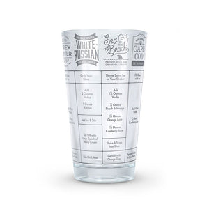 Good Measure Recipe Glass (Vodka)