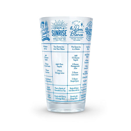 Good Measure Recipe Glass (Tequila)