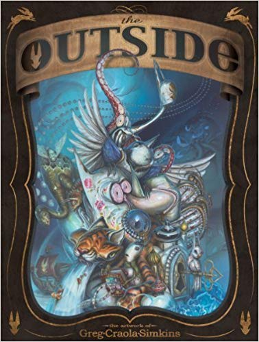The Outside the Artwork of Greg Craola Simkins
