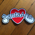 Santa Ana Iron-On Patch by Show Pigeon