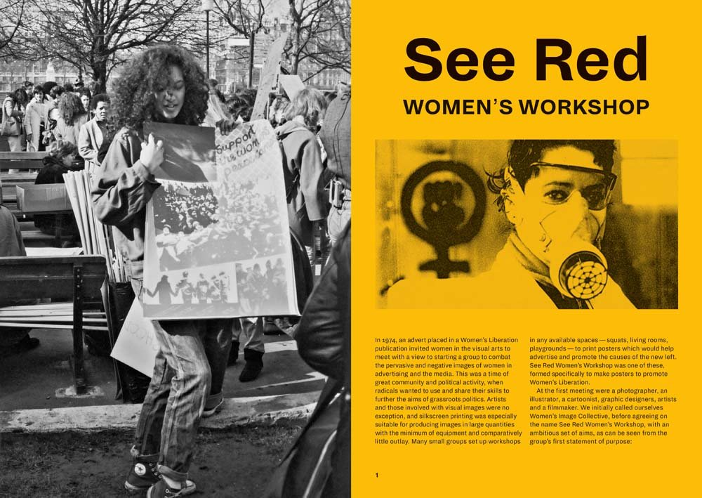 See Red Women's Workshop: Feminist Posters 1974–1990