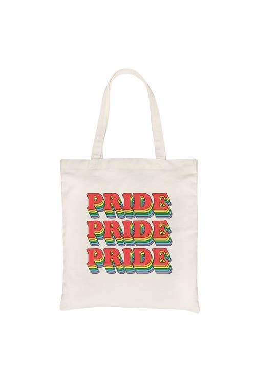 Pride Rainbow Canvas Bag