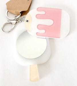 Melting Popsicle Keychain
