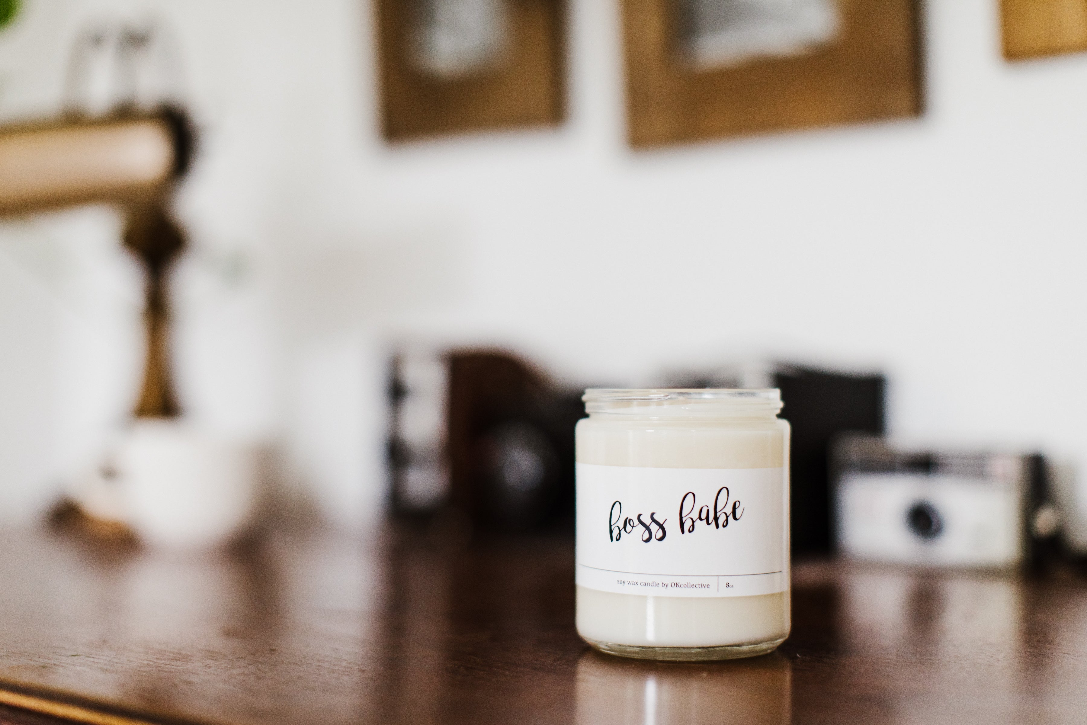 Boss Babe - 8oz Soy Candle