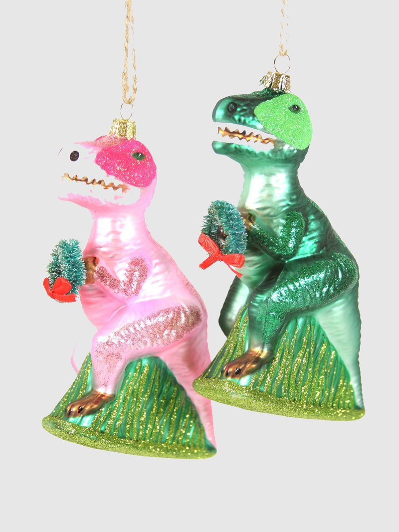 Merry Merry T-Rex Ornament