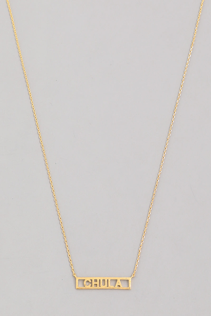 Chula 18k Necklace