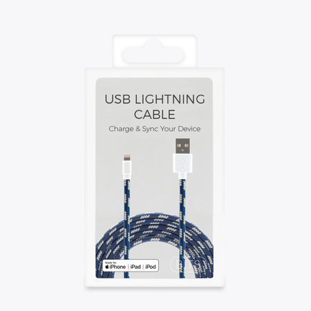 Bits Apple 3' Lightning Charge-and-Sync Cable