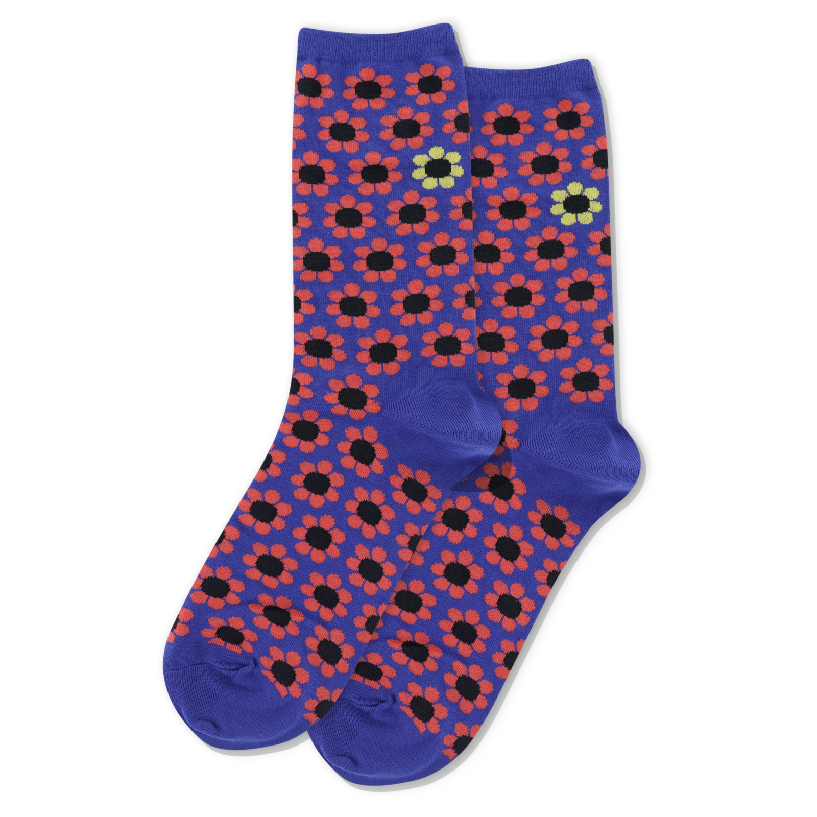 Women's Daisy Crew Sock