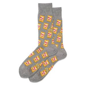 Men's Potato Chips Crew Socks