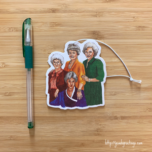Golden Girls Air Freshener