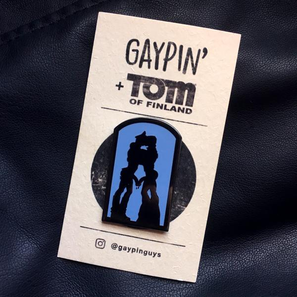 Tom Of Finland (Cruising) Lapel Pin