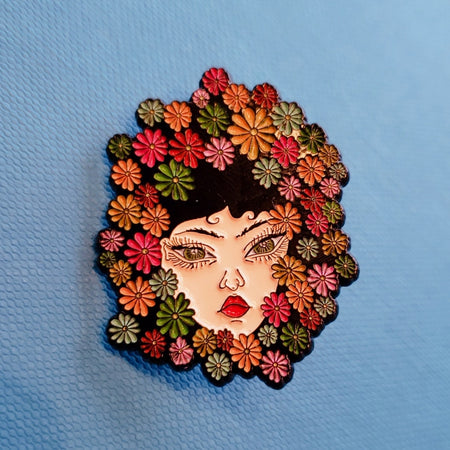 Beverly Salas Enamel Pin