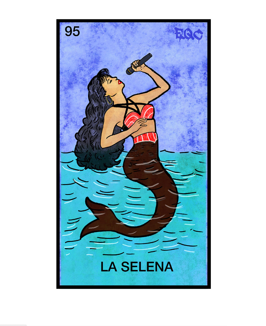 La Selena Greeting Card