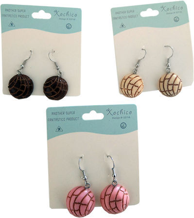 Pan Dulce Hanging Earrings