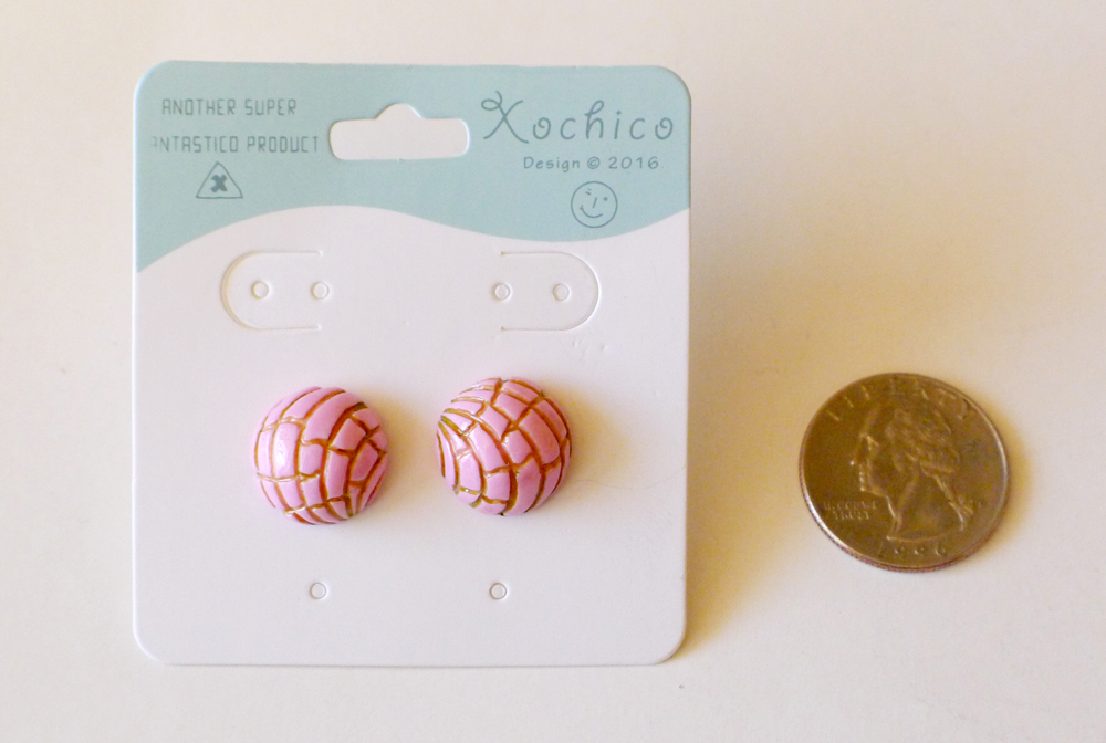 Pan Dulce Stud Earrings