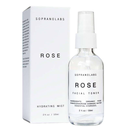 Rose Hydrating Mist Organic Face Toner (2 Fl Oz.)
