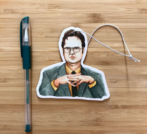 Dwight Schrute Air Freshener