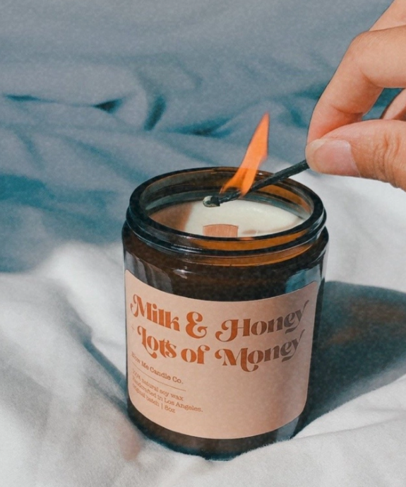 Milk & Honey + Lots of Money Candle