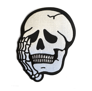 Worriers Skull Back Patch