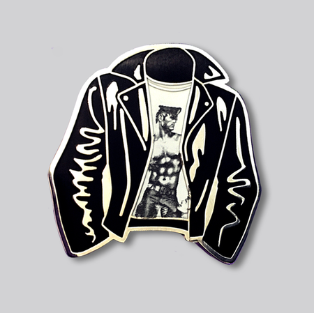 Tom Of Finland (Leather Jacket) Lapel Pin