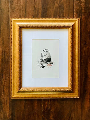 "Show Pigeon ""All-Nite Diner"" Original Artwork"