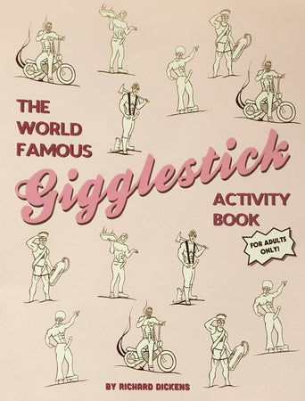 The World Famous Gigglestick Activity Book