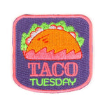 Taco Tuesday Iron on Patch