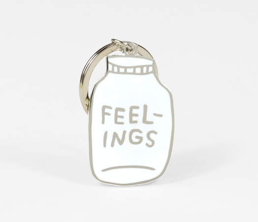 Feelings Keychain