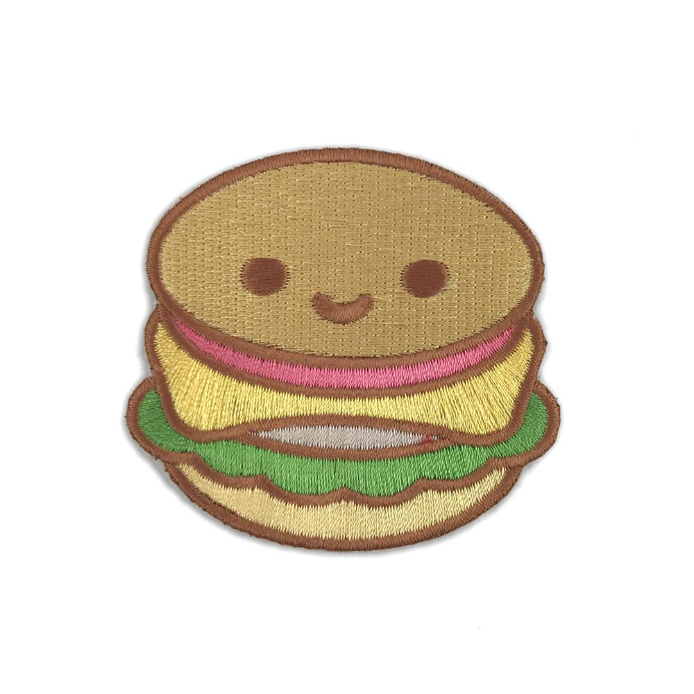 Burger Sticker Patch