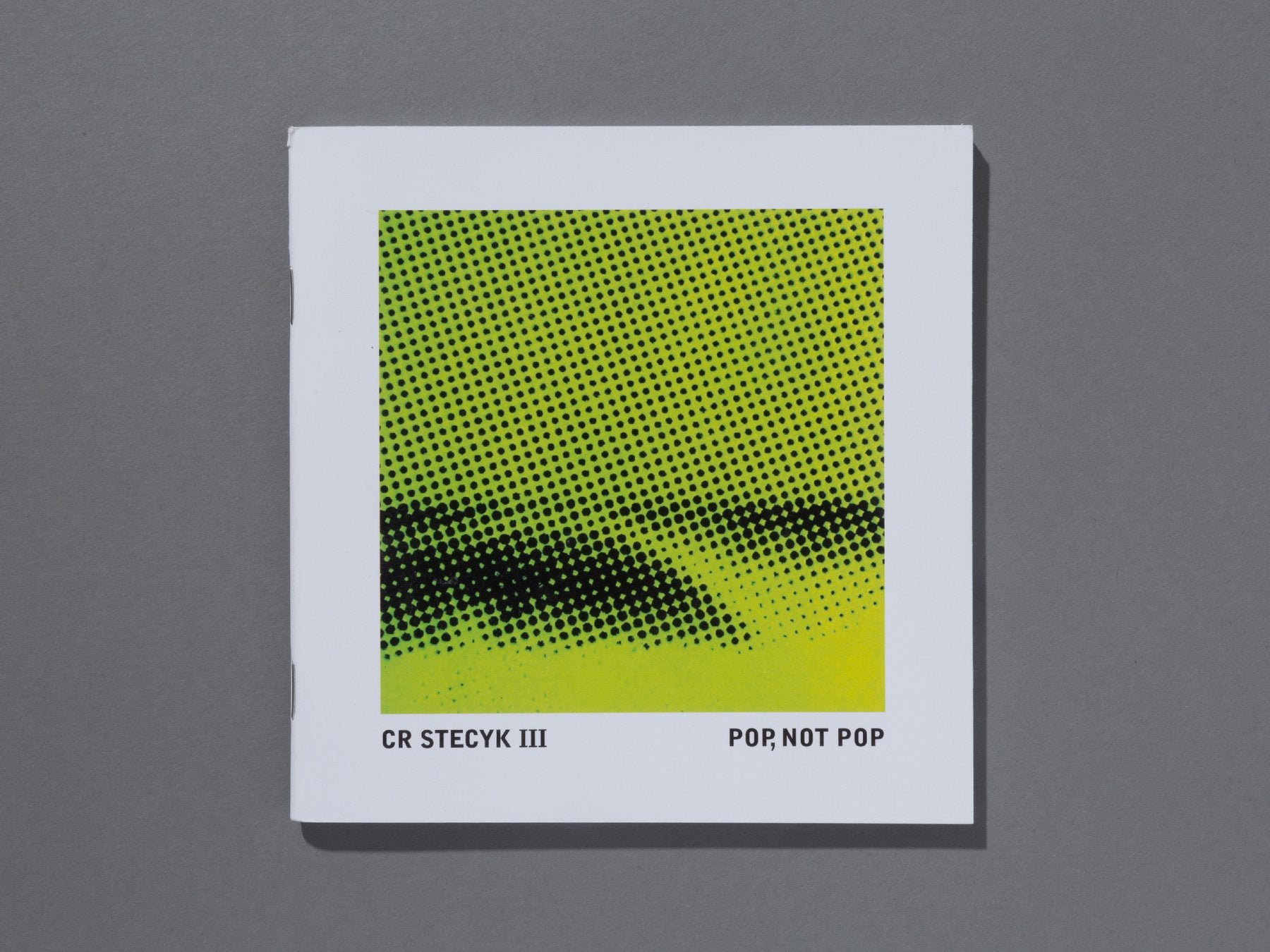 Pop, Not Pop Zine by CR Stecyk III
